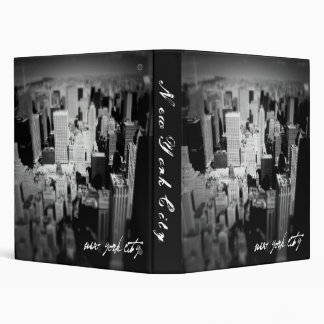 New York City Photo Album 3 Ring Binder