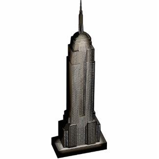 New York City Photo Sculpture Button