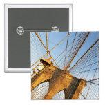 New York City Pin Cuadrada 5 Cm
