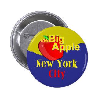 New York City Pin Redondo 5 Cm