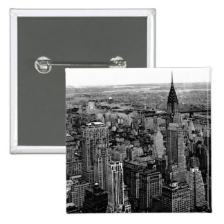 New York City Pinback Button
