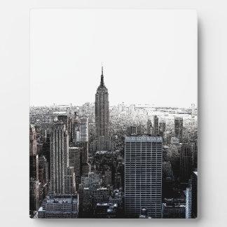 New York City Placas Con Fotos