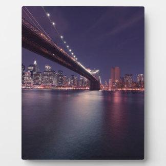 New York City Placas De Plastico