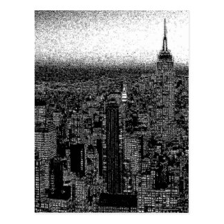 New York City Pop Art Postcard