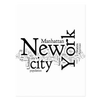 New York City Post Card