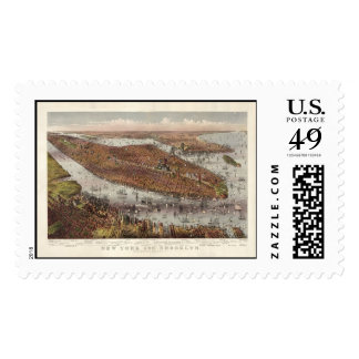 New York City Postage Stamp