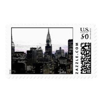 New York City Postage Stamps