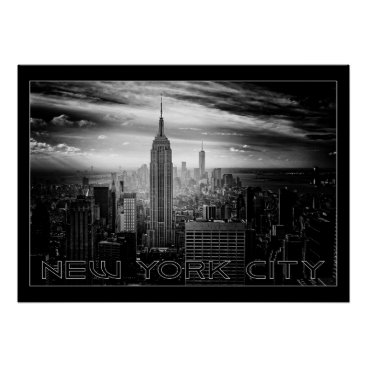 USA Themed NEW YORK CITY poster