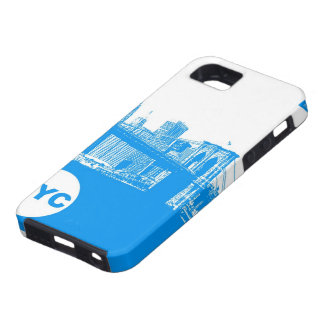 New York City Poster iPhone SE/5/5s Case