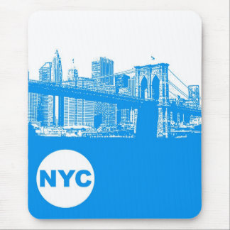 New York City Poster Mouse Pad