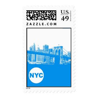 New York City Poster Postage