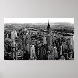 New York City Poster Print print