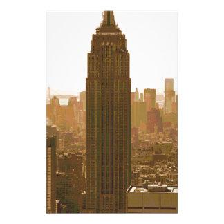 New York City Poster Stationery Design