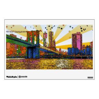 New York City psicodélico: Puente de Brooklyn, WTC