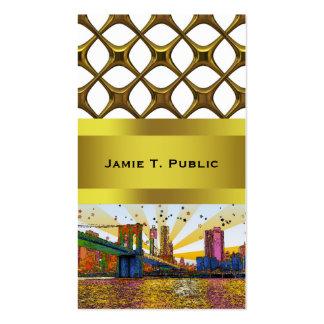 New York City psicodélico: Puente de Brooklyn, WTC Tarjetas De Visita