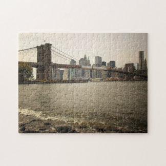 New York City Puzzle -  Brooklyn Bridge River