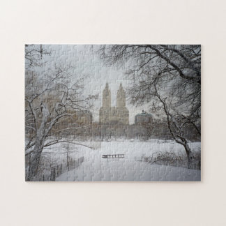 New York City Puzzle -  Central Park Winter