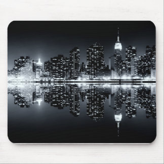 new york city Reflections Mouse Pad