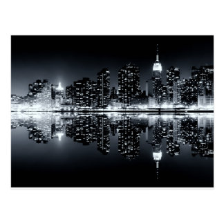 new york city Reflections Postcard