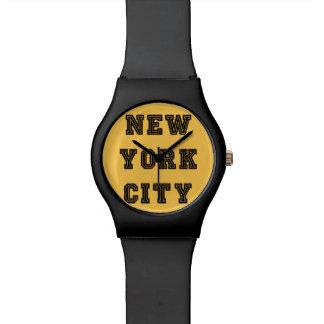 New York City Relojes De Mano