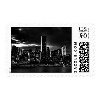 New York City River & Sky Postage