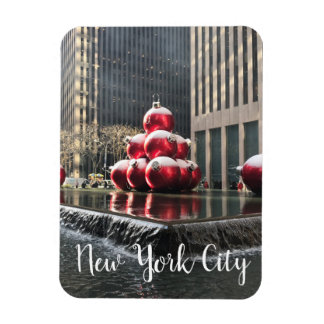 New York City Rockefeller Center Christmas NYC Magnet