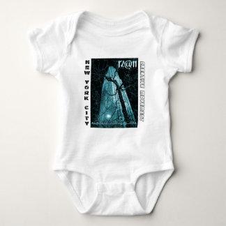 New York City Rockefeller Center Tree Baby Bodysuit