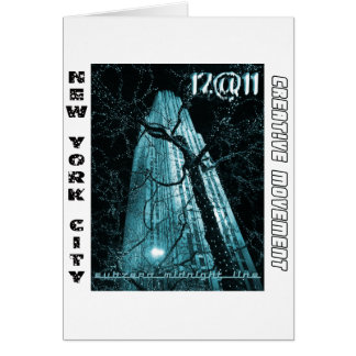 New York City Rockefeller Center Tree Card