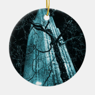 New York City Rockefeller Center Tree Ceramic Ornament