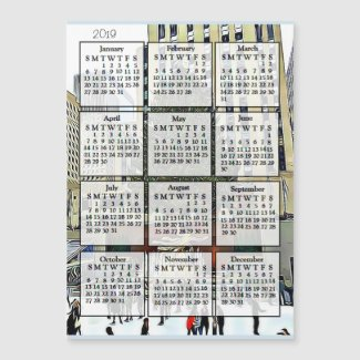 New York City Rockefeller Tree 2019 Calendar