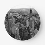 New York City Round Clock