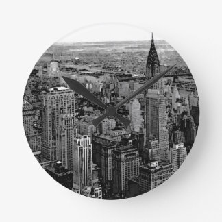 New York City Round Clock