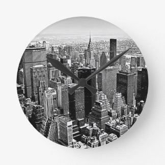 New York City Round Wall Clocks