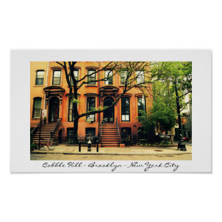 New York City s Cobble Hill Neighborhood Print