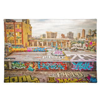 New York City's graffiti site Place Mat