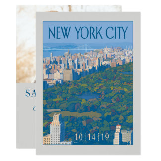 New York City | Save the Date - Photo Card