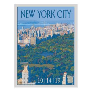 New York City | Save the Date Postcard