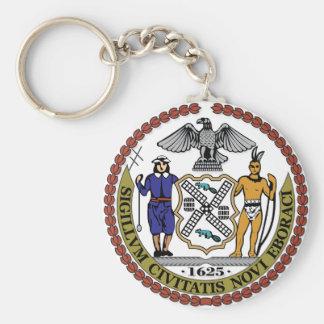 New York City seal Keychain