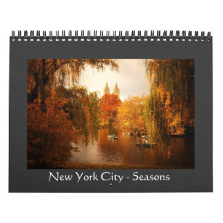 New York City - Seasons - 2013 Calendar