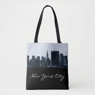 New York City Silhouette Tote Bag