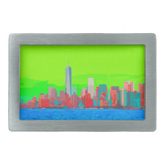 New York City Sky Line Belt Buckle