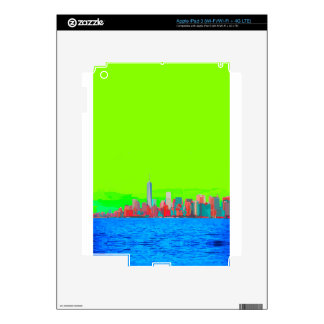 New York City Sky Line iPad 3 Skins
