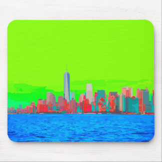 New York City Sky Line Mouse Pad