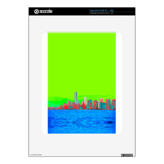 New York City Sky Line Skin For The iPad