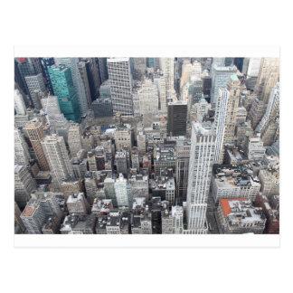 New York City Sky Scrapers Postcard