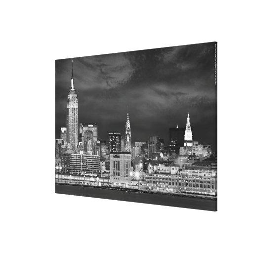 New York City Skyline 60x40in Canvas Print