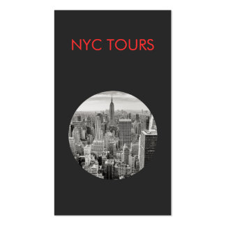 New York City Skyline and Empire State Building Business Card Template
