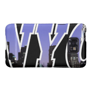 New York City skyline at Night Galaxy S2 Covers