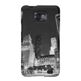 New York City skyline at Night Galaxy SII Cover