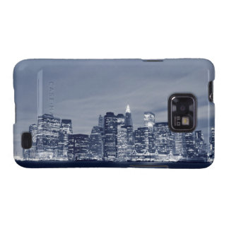 New York City skyline at Night Galaxy S2 Cover